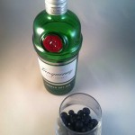 Gin and berries